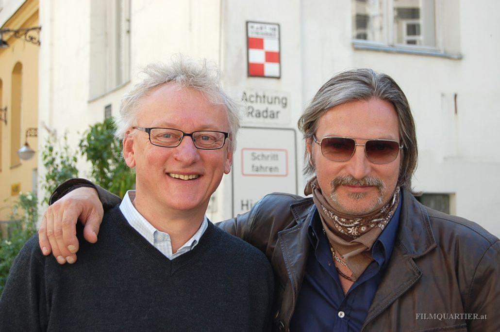 Regisseur Erhard Riedlsperger & Stefan Jürgens - SOKO DONAU