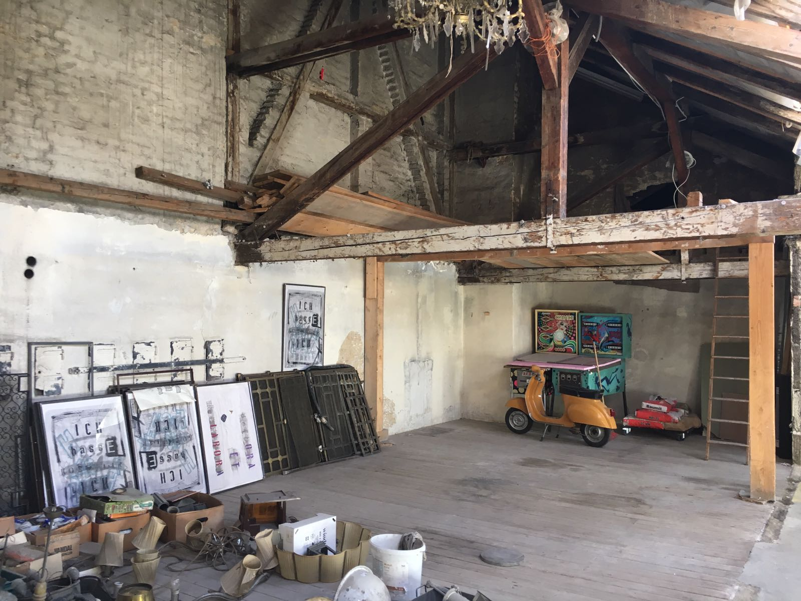 Dachboden - Filmlocation FILMQUARTIER WIEN